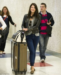 Gemma Arterton - at JFK Airport in NYC 6/11/13