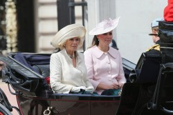 Catherine, Duchess of Cambridge - Trooping The Colour Ceremony in London 6/15/13