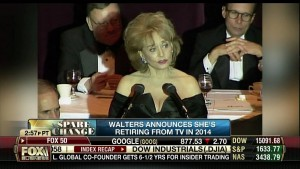 BARBARA WALTERS cleavage