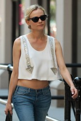Diane Kruger - out in NY 6/15/13