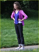 Ciara Bravo Filming movie in Vancouver 6/17