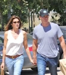 Cindy Crawford - out in Malibu 6/28/13