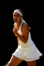 Sabine Lisicki - Wimbledon 2013 Day 6 in London 6/29/13