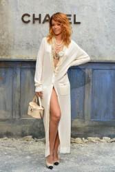 Rihanna - Chanel fashion show in Paris 7/2/13