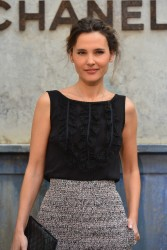 Virginie Ledoyen - Chanel fashion show in Paris 7/2/13