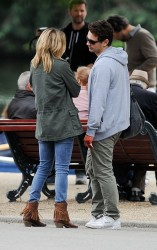 Kate Hudson - on the set of 'Good People' in London 7/2/13