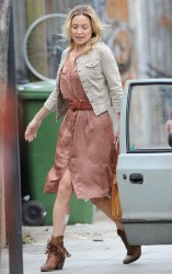 Kate Hudson - on the set of 'Good People' in London 7/3/13