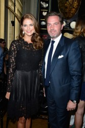 Princess Madeleine of Sweden - Valentino fashion show in Paris 7/3/13