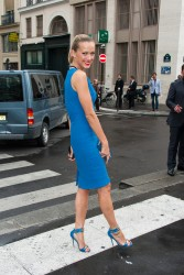Petra Nemcova - Elie Saab fashion show in Paris 7/3/13