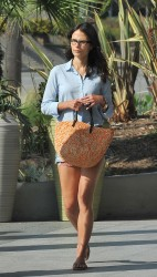 Jordana Brewster ~ Out  about  Century City, July 6