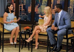 Olivia Munn - Live with Kelly & Michael 7/8/13