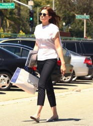 Mandy Moore - out in Beverly Hills 7/16/13
