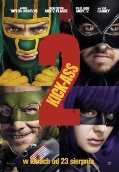 Polski plakat filmu 'Kick-Ass 2'