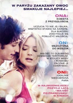 Tył ulotki filmu 'Miłość Po Francusku'