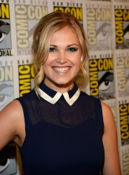Eliza Taylor-Cotter - 'The 100' Press Line at San Diego Comic-Con 7/19/13