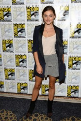Phoebe Tonkin - 'The Originals' Special Video Presentation and Q&A at Comic-Con in San Diego 7/20/13