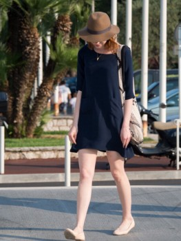 Emma Stone at Woody Allen concert in Antibes, France July 21