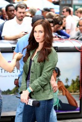 Megan Fox - on the set of 'TMNT' in NYC 7/22/13