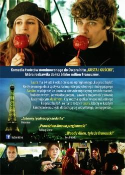 Tył ulotki filmu 'Książę Nie Z Tej Bajki'