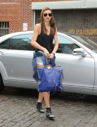 Miranda Kerr - out in NYC 7/28/13