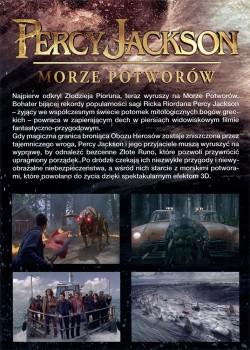 Tył ulotki filmu 'Percy Jackson: Morze Potworów'