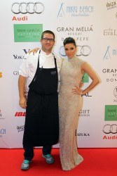 Eva Longoria - Global Gift Gala 2013 red carpet in Marbella 8/4/13