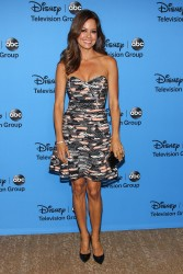 Brooke Burke-Charvet - DisneyABC 2013 Summer TCA Tour in Beverly Hills 8/4/13