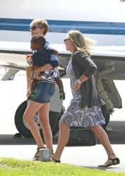 Charlize Theron - at Burbank Airport 8/6/13