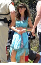 Zooey Deschanel - on the set of 'New Girl' in Malibu 8/6/13