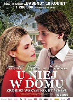Przód ulotki filmu 'U Niej W Domu'
