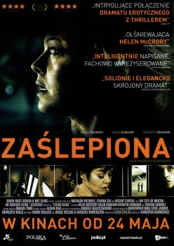 Przód ulotki filmu 'Zaślepiona'
