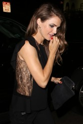 Keri Russell - at the Chateau Marmont in Hollywood 8/8/13