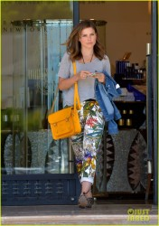 Sophia Bush - out in Beverly Hills 8/8/13