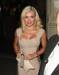 Katherine Jenkins - Mahiki Night Club  in london (august 9)
