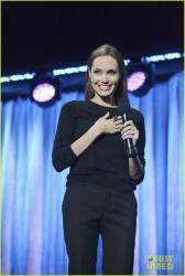 Angelina Jolie - 'Maleficent' panel 2013 Disney D23 Expo in Anaheim 8/10/13