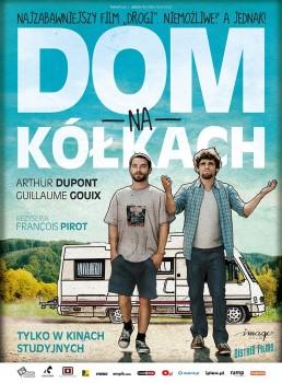 Polski plakat filmu 'Dom Na Kółkach'