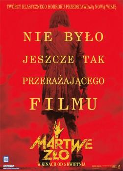 Polski plakat filmu 'Martwe Zło'