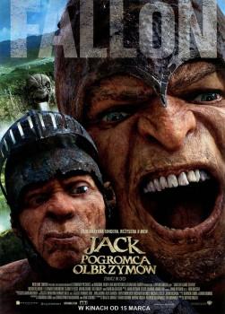 Przód ulotki filmu 'Jack Pogromca Olbrzymów'
