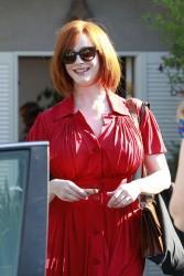 sexy redhead christina hendricks