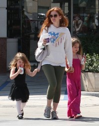 Isla Fisher - out in Studio City 8/14/13