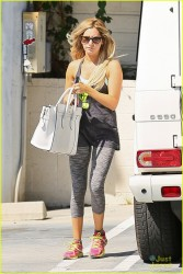 Ashley Tisdale - out in Studio City 8/15/13
