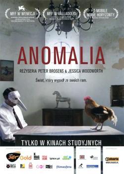 Przód ulotki filmu 'Anomalia'