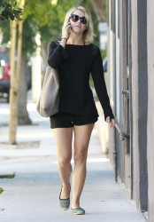 Julianne Hough - Going to a spa in West Hollywood 8/19/13