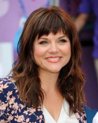 Tiffani Thiessen - Doc Mobile Tour at the Disney Store in NYC 8/21/13