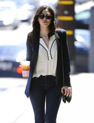 Emmy Rossum - Out in Brentwood 8/21/13