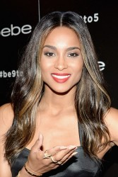Ciara - bebe's Fall 2013 launch in NYC 8/21/13