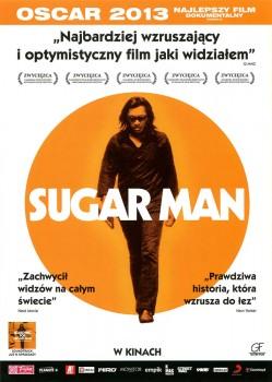 Przód ulotki filmu 'Sugar Man'