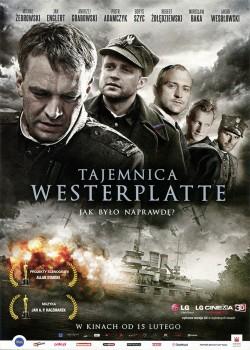 Przód ulotki filmu 'Tajemnica Westerplatte'