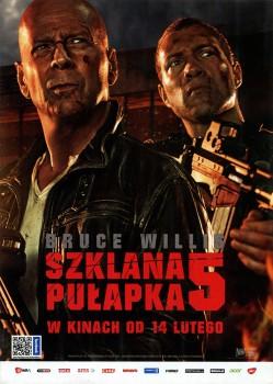 Przód ulotki filmu 'Szklana Pułapka 5'