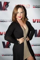JoJo Levesque - VIBE 20th Anniversary celebration in NYC 8/23/13
